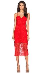 Платье с кружевным бюстье follow your heart - Lumier