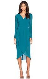 Платье с асимметричным подолом - Lumier