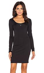 Платье-футболка с длинным рукавом us slim - G-Star
