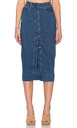 Джинсовая юбка chloe - Bardot