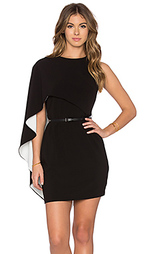 Мини платье asymmetrical sleeve - Halston Heritage