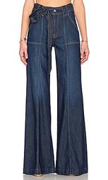 Широкие брюки на поясе - 7 For All Mankind