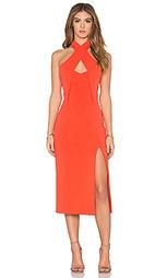 Платье миди bandage bustier - NICHOLAS