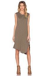 Платье shirttail twist - Wilt