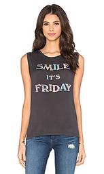 Майка без рукавов smile it's friday - DAYDREAMER
