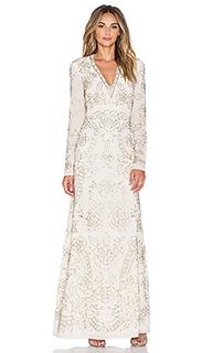 Макси платье lace imprint - Needle & Thread