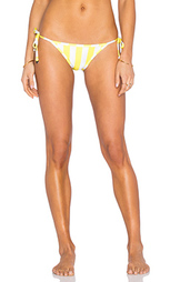 Двусторонние плавки бикини с завязками по бокам emoji - Wildfox Couture