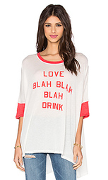 Футболка blah blah blah - Wildfox Couture