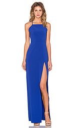 Вечернее платье с квадратным вырезом - Donna Mizani