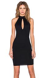Мини платье с вырезом-капля - Donna Mizani