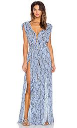 Длинное платье в восточном стиле agatha - Vix Swimwear