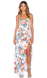 Платье с запахом little blooms - MINKPINK