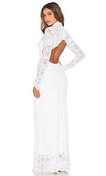 Кружевное вечернее платье в викторианском стиле - Nightcap