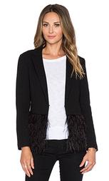 Куртка с рюшами из перьев - Lucy Paris