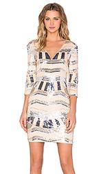 Мини-платье с блестками rise of dawn - Lumier