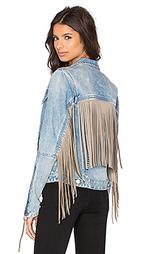 Куртка с бахромой - BLANKNYC