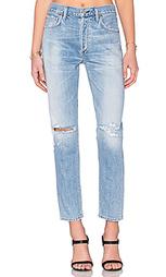 Классические джинсы высокой посадки liya - Citizens of Humanity