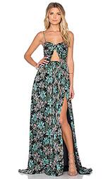 Цветочное вечернее платье - JILL JILL STUART