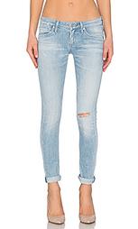 Облегающие джинсы низкой посадки chloe - AGOLDE