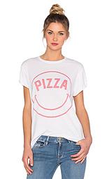 Футболка с рисунком pizza face - The Laundry Room