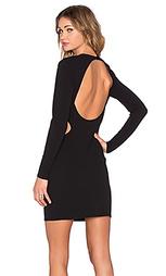 Платье с вырезом длинный рукав - Twin Sister