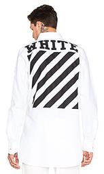 Рубашка oxford - OFF-WHITE