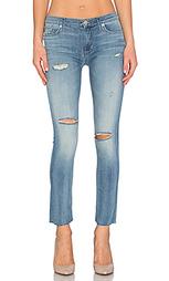 Укороченные облегающие джинсы средней посадки shine - Hudson Jeans