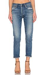Первоклассные состаренные классические джинсы высокой посадки liy - Citizens of Humanity