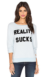 Свитшот reality sucks - Wildfox Couture