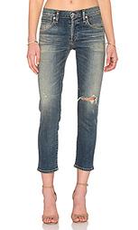 Премиум винтажные узкие укороченные джинсы средней посадки elsa - Citizens of Humanity