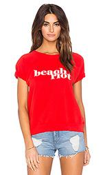 Флисовая футболка beach riot - BEACH RIOT