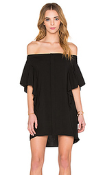 Мини-платье с открытыми плечами neo - MLM Label