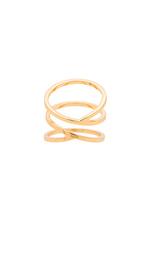 Кольцо с переплётом zoe - gorjana
