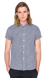 Рубашка на пуговицах esquina - SATURDAYS NYC
