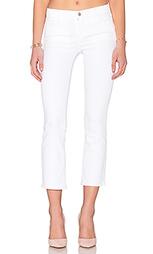 Расклёшенные укороченные джинсы средней посадки selena - J Brand