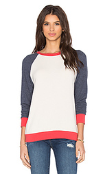 Пуловер с рукавами реглан и манжетами в рубчик sanders - Michael Lauren