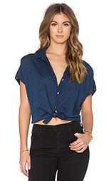 Рубашка на пуговицах с завязкой - Joe's Jeans