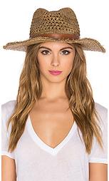 Шляпа raffia cane weave continental - Hat Attack