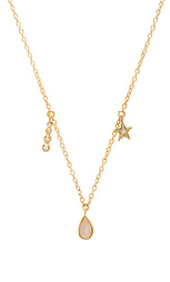 Ожерелье с подвесками moonstone teardrop - Jacquie Aiche