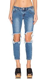 Укороченные джинсы freebirds - One Teaspoon
