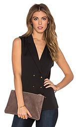 Блуза в цветах милитари - L'Academie