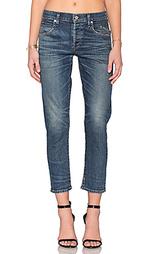 Укороченные узкие джинсы средней посадки elsa - Citizens of Humanity