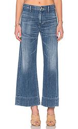 Широкие джинсы высокой посадки abigail - Citizens of Humanity