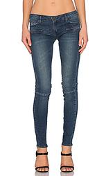 Узкие джинсы со швами на коленях - Etienne Marcel
