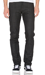 Узкие джинсы super skinny guy black x grey stretch selvedge - Naked & Famous Denim