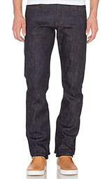 Облегающие джинсы weird guy sakura stretch selvedge - Naked & Famous Denim