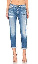 Укороченные джинсы josefina - 7 For All Mankind