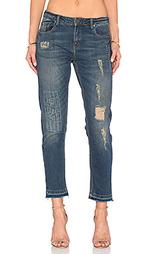 Укороченные рваные джинсы - Etienne Marcel