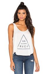 Майка с графикой triangular - RVCA