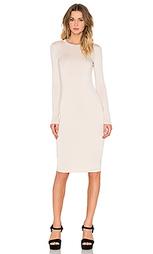 Миди платье с длинным рукавом - BLQ BASIQ